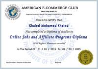Certificate ACClub A4